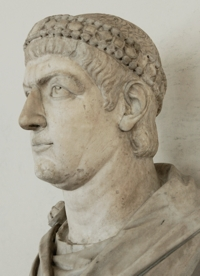 Bust of Constantine I